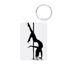 pole dancer 1 Keychains