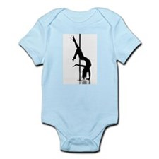 pole dancer 1 Infant Bodysuit
