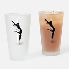 pole dancer 3 Drinking Glass