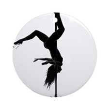 pole dancer 5 Ornament (Round)