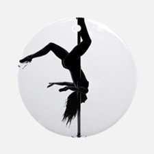 pole dancer 5 Ornament (Round)