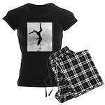 pole dancer 5 Women's Dark Pajamas