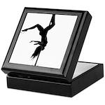 pole dancer 5 Keepsake Box