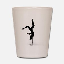 pole dancer 5 Shot Glass