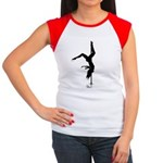 pole dancer 5 Women's Cap Sleeve T-Shirt