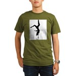pole dancer 5 Organic Men's T-Shirt (dark)