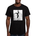 pole dancer 5 Men's Fitted T-Shirt (dark)