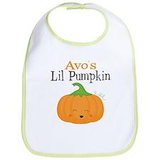 Avos Little Pumpkin Bib