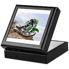 motorcycle-off-road Keepsake Box