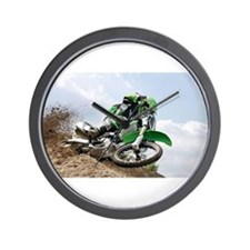 motorcycle-off-road Wall Clock