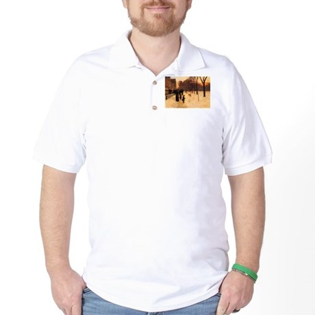 Childe Hassam Boston In Twilight Golf Shirt