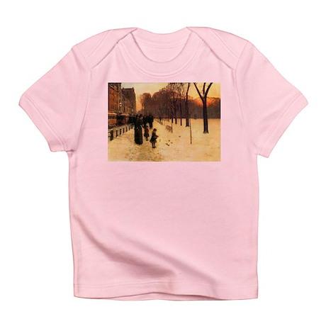 Childe Hassam Boston In Twilight Infant T-Shirt