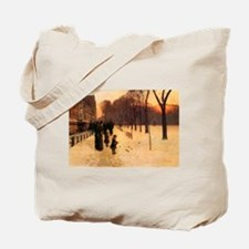 Childe Hassam Boston In Twilight Tote Bag