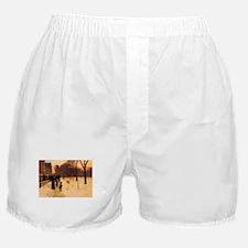Childe Hassam Boston In Twilight Boxer Shorts