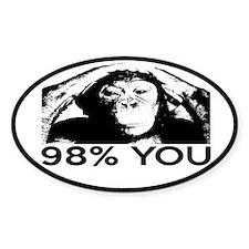 Evolution, Chimp: 98% You Decal