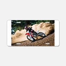 motorcycle-off-road Aluminum License Plate
