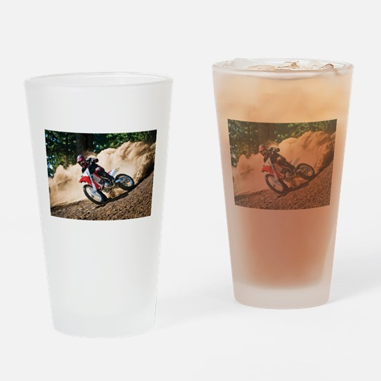 motorcycle-off-road Drinking Glass