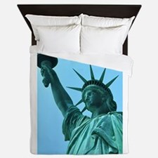 Lady Liberty Queen Duvet