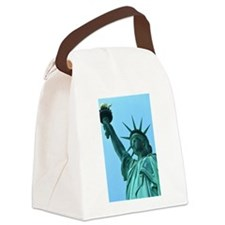 Lady Liberty Canvas Lunch Bag
