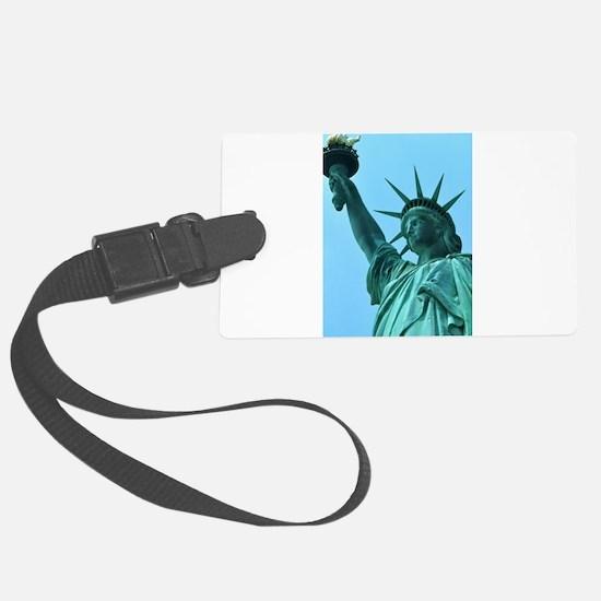 Lady Liberty Luggage Tag