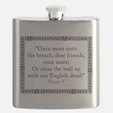 Once More Unto The Breach Flask