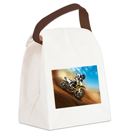 motorcycle-off-road.jpg Canvas Lunch Bag
