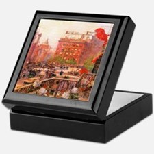 Childe Hassam Fifth Avenue Keepsake Box