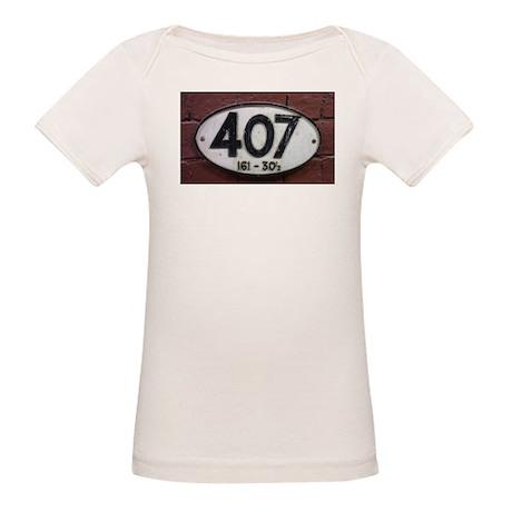 Railway sign 407 Organic Baby T-Shirt