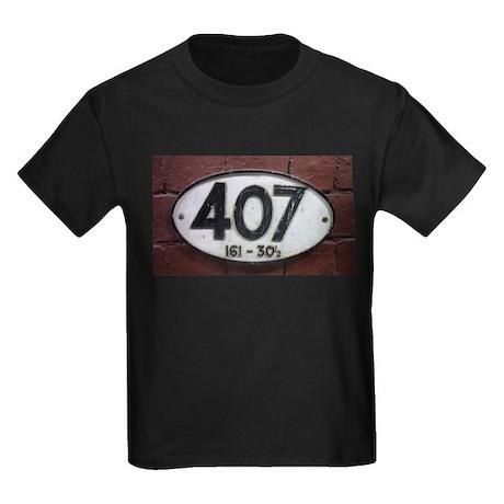 Railway sign 407 Kids Dark T-Shirt