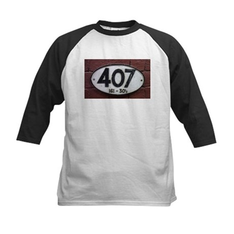Railway sign 407 Kids Baseball Jersey