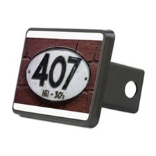 Railway sign 407 Hitch Cover