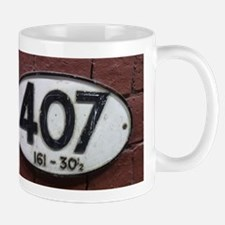Railway sign 407 Mug