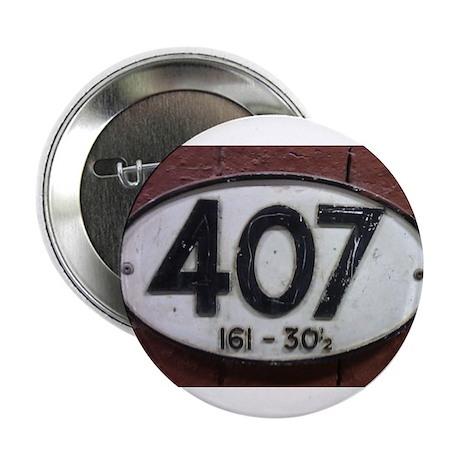 "Railway sign 407 2.25"" Button"