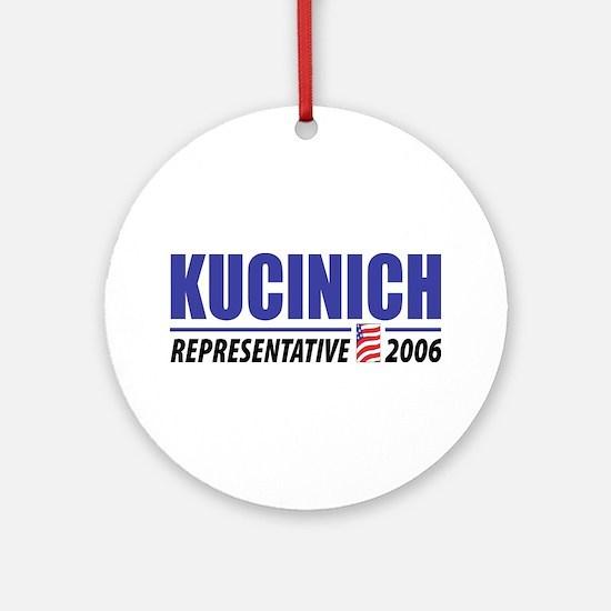 Kucinich 2006 Ornament (Round)