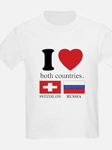 SWITZERLAND-RUSSIA T-Shirt