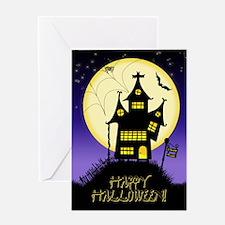 Spooky Halloween 1 Greeting Card