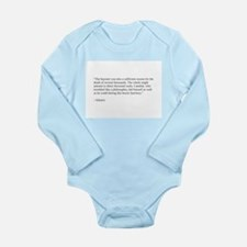 Voltaire on philosophy and war Long Sleeve Infant