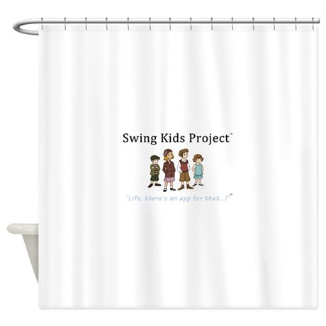 Swing Kids Project Logo Shower Curtain