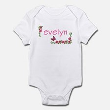 Butterfly & Flowers Evelyn Infant Creeper