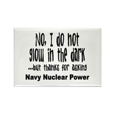 Navy Nuclear Power Rectangle Magnet
