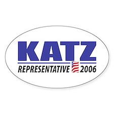 Katz 2006 Oval Decal