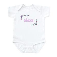 Pretty Posies Alexa Infant Creeper