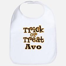 Trick or Treat Avo Bib