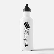 Registered Bibliophile Water Bottle