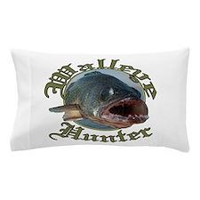 Walleye hunter 3 Pillow Case