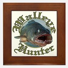 Walleye hunter 3 Framed Tile