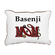 Basenji Mom Rectangular Canvas Pillow