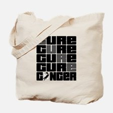CURE Carcinoid Cancer Collage Tote Bag