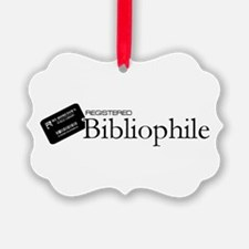 Registered Bibliophile Ornament