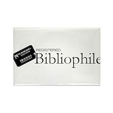 Registered Bibliophile Rectangle Magnet